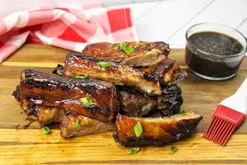 David's BBQ Pork Ribs