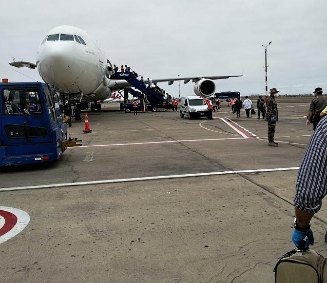 Almerienses atrapados en Perú tras el cierre de fronteras.