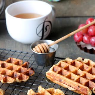 Chocolate Chip Banana Oat Waffles Recipe