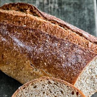 Dark Whole Durum Sourdough Bread