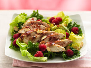 Grilled Raspbery Chicken Chipolte Salad Recipe