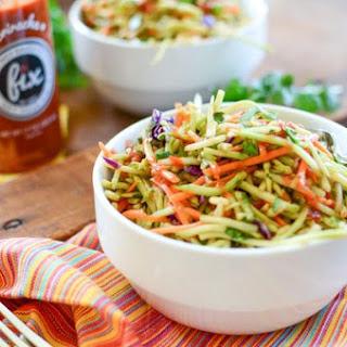 Spicy Sriracha Broccoli Slaw Recipe