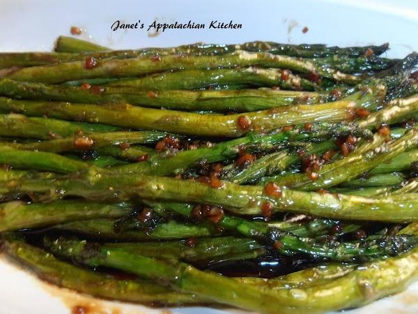 Honey And Soy Asparagus Recipe