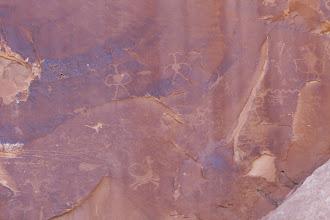 Photo: Petroglyphs near our house