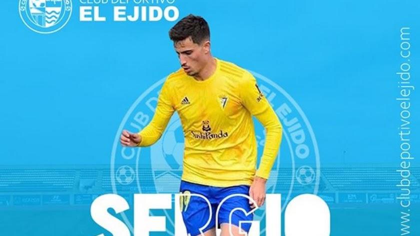 Sergio Pérez llega con experiencia en la Segunda B.