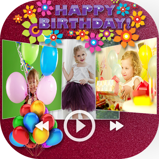 Happy Birthday Video Maker With Music