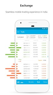 Zebpay Bitcoin and Cryptocurrency Exchange- screenshot thumbnail
