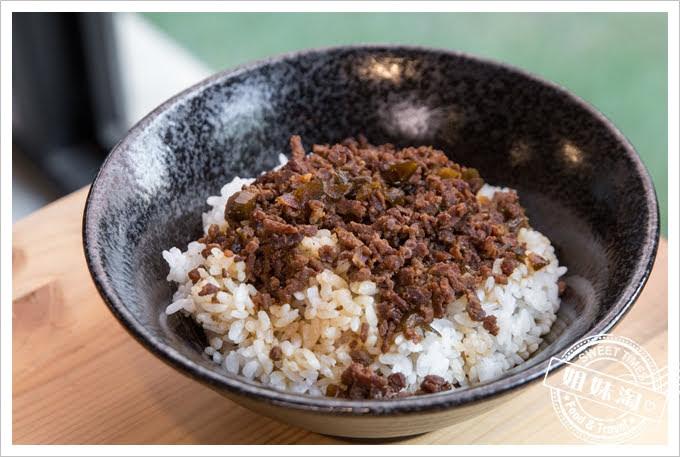 岡鐵牛鍋物工廠牛肉肉燥飯