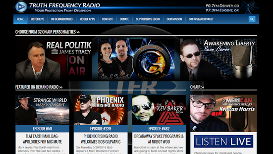 Truth Frequency Radio 2.0- screenshot thumbnail