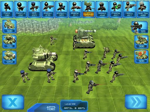 Stickman Tank Battle Simulator 1.06 screenshots 6