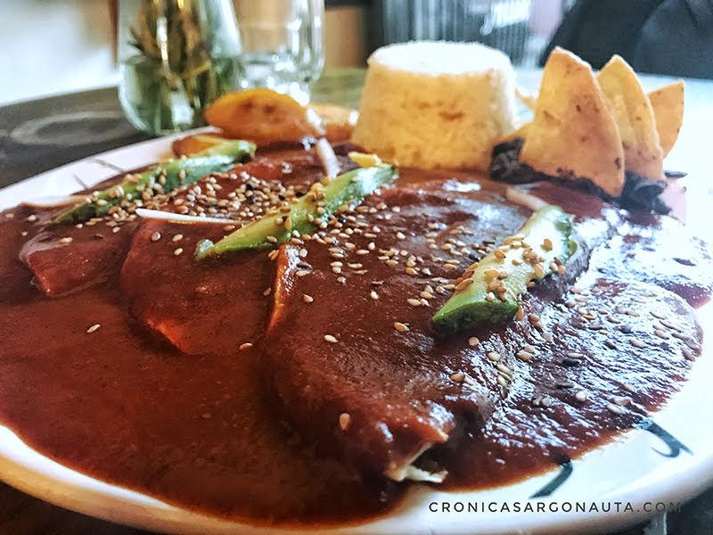 Comida vegana mexicana