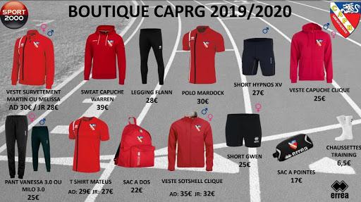 Boutique CAPRG 2019/2020
