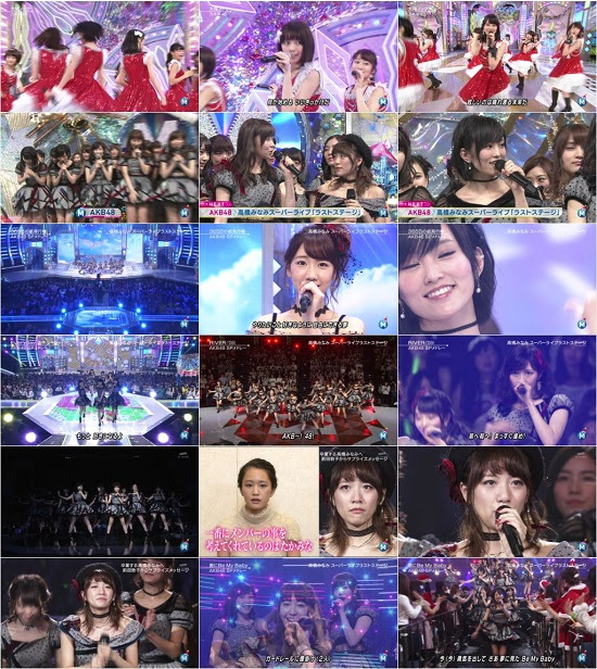 151225 AKB48G Nogizaka46 (乃木坂46) Part – Music Station Super Live 2015