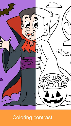 2021 Halloween Coloring Books 2.1.3 screenshots 6