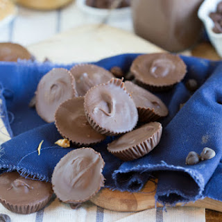 Homemade Peanut Butter Cup Candies