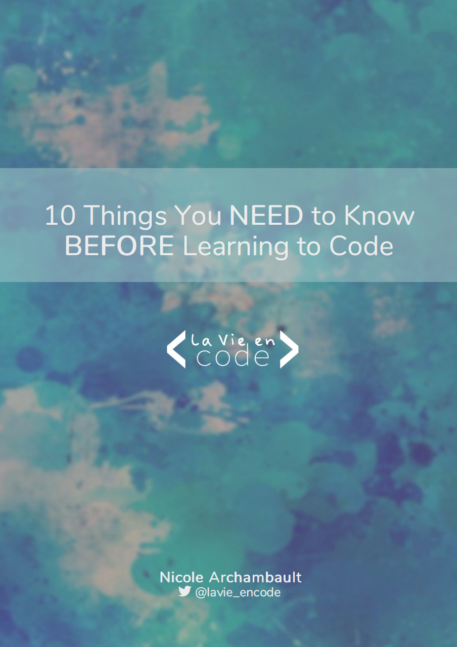 10 Things You NEED to Know BEFORE Learning to Code cover image