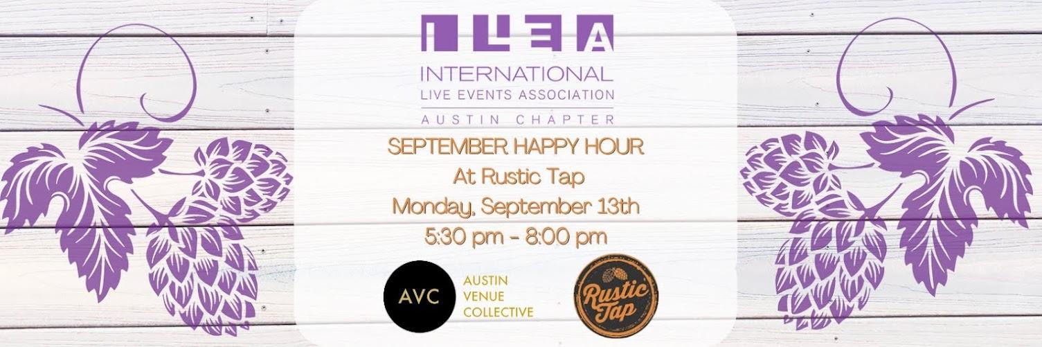 ILEA September Happy Hour