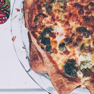 Simple Pepperidge Farm® Puff Pastry Ham & Broccoli Quiche.