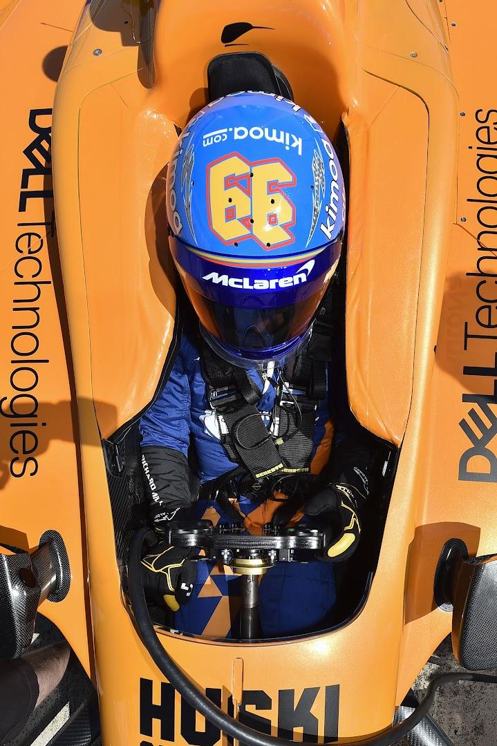フェルナンド・アロンソのインディ500テスト2019