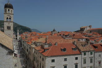 Photo: View of Dubrovnik old town from top of the walls