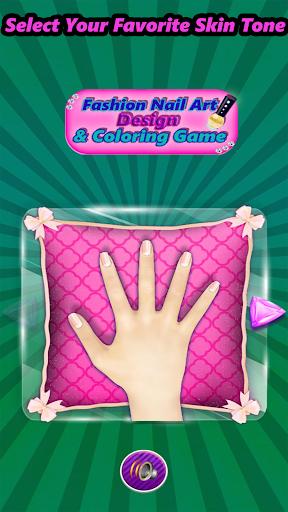 Fashion Nail Art Design & Coloring Game filehippodl screenshot 12