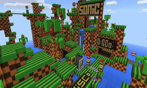 Map Sonic Life for MCPE 2.0 {cheat|hack|gameplay|apk mod|resources generator} 2