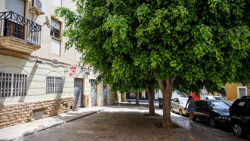 Los peatones ganarán protagonismo en las plazas de Almería.