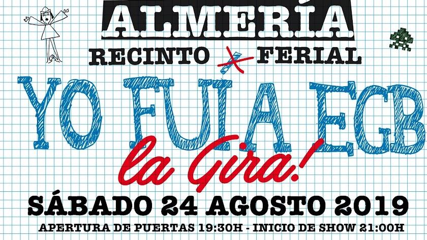 Carlos Latre será el maestro de ceremonias el próximo 24 de agosto en el Recinto Ferial de Almería.