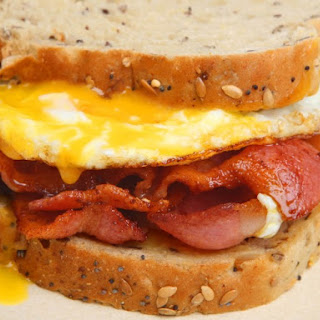 Bacon Egg And Cheese Sandwich.
