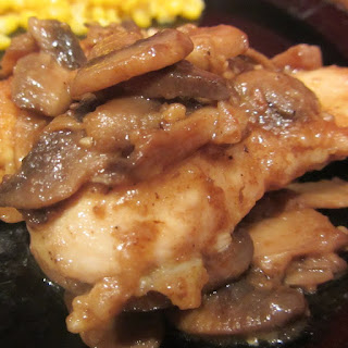 Slow Cooker Chicken and Mushrooms in Wine Sauce