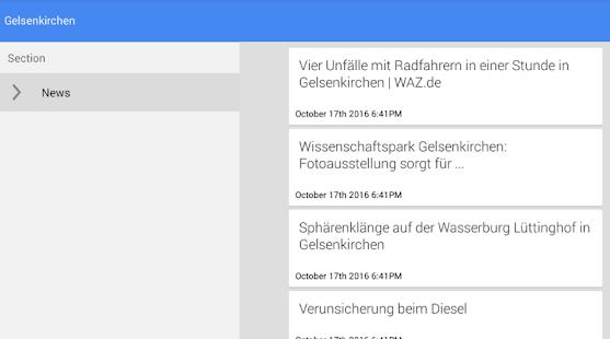 Nachrichten aus Gelsenkirchen - náhled