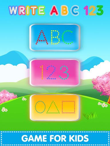 ABC123 English Alphabet Write 2.3.7 screenshots 12