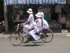 Photo: Ao dai - Vietnamese national costume