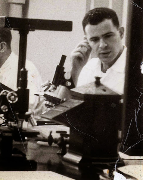 Photo: Phillip Lerner in medical school, 1958. - - - - Phillip is the subject of his son Barron Lerner's book The Good Doctor: A Father, a Son, and the Evolution of Medical Ethics (2014, Beacon Press).