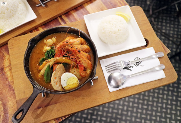 銀兔湯咖哩 師大店 就想把湯喝光光!北海道特產咖哩飯
