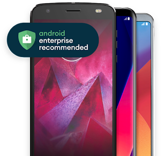 Dispositivos Android Enterprise Recommended