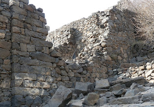 Photo: This is one place where the Romans breached the wall to attack the fortified city.