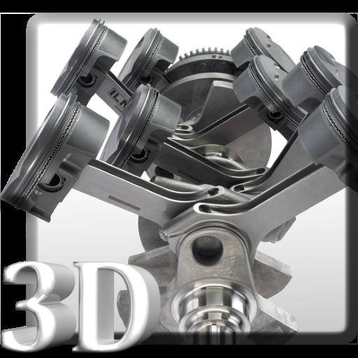 個人化App|引擎的3D动态壁纸 LOGO-3C達人阿輝的APP