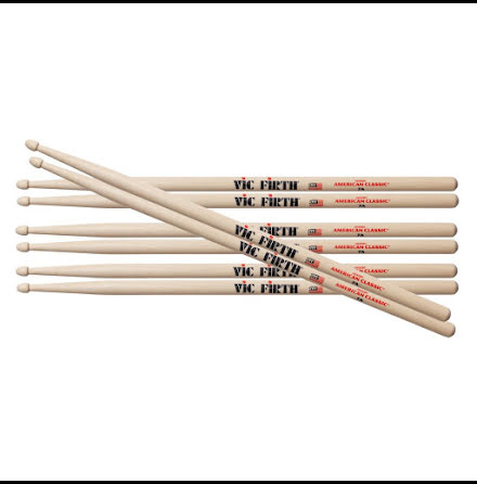 Vic Firth 7A - 4-pack!