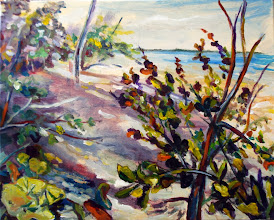Photo: Morning at Gumbo Limbo / acrylic by Stan Dorfest