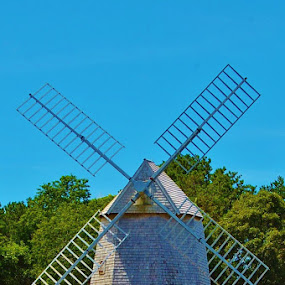 Brewster Windmill by Kathlene Moore - Buildings & Architecture Public & Historical