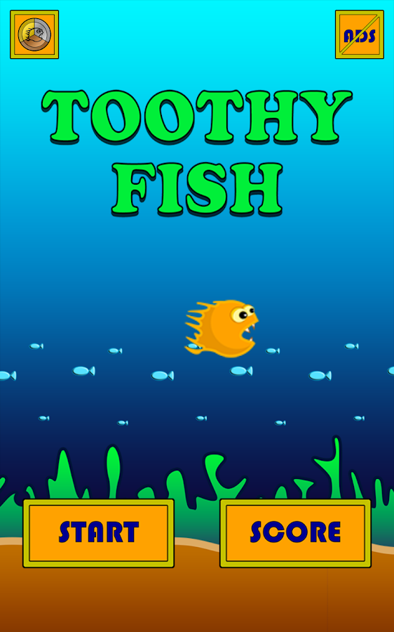 🐠 Toothy Fish 🐠- screenshot
