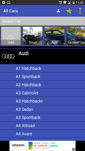 All Cars: Information & Details  screenshots 1