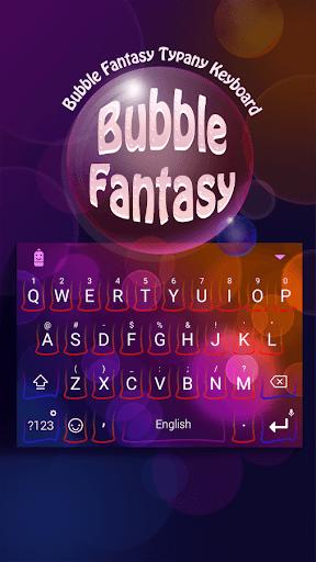 mod Bubble Fantasy Theme Keyboard 4.5 screenshots 1