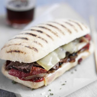 Steak and Tomato Sandwiches