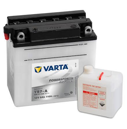 MC-batteri 8Ah Varta YB7-A
