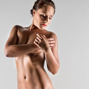 Sculpture by Peter Driessel - Nudes & Boudoir Artistic Nude ( implied nude, nude, fitness, boudoir, naked )