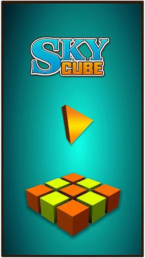 Sky Cube Jump
