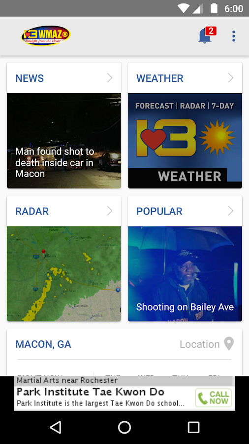 13WMAZ- screenshot