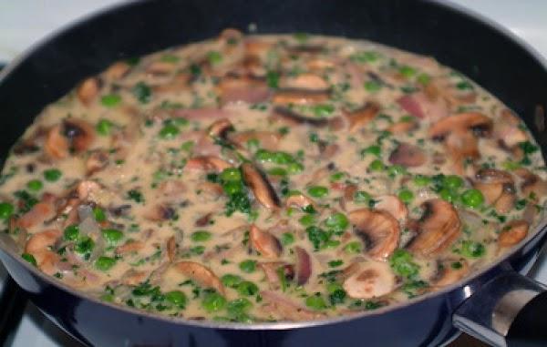 Creany Peas Alfredo Recipe